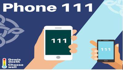 Phone 111 wales social 1